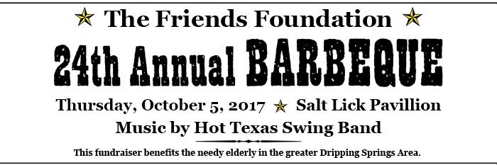 2017 BBQ – Oct. 5